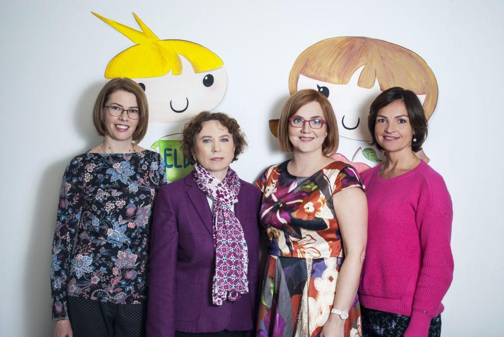 juhatuse liikmed Piret Loomets, dr. Ülle Einberg, Kristi Peegel ja Sigrid Vorobjov